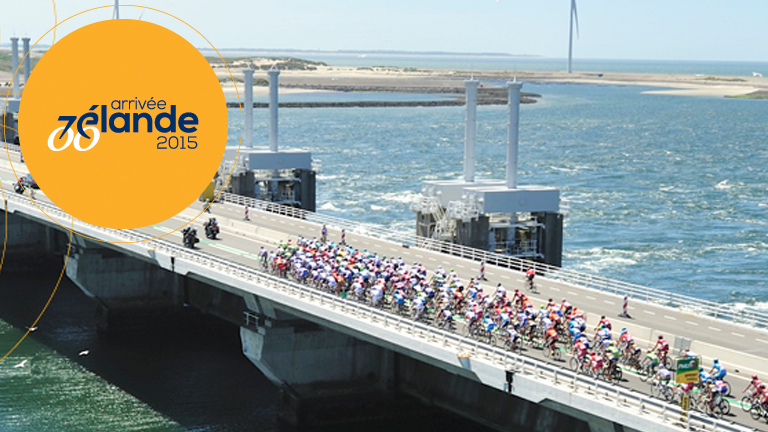 TOUR DE FRANCE IN ZEELAND